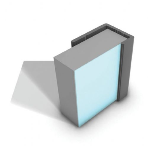 Wet-Wall Acrylic Panel End Cap